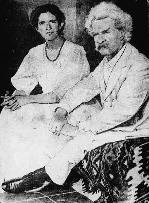 Jean Clemens and Samuel Clemens