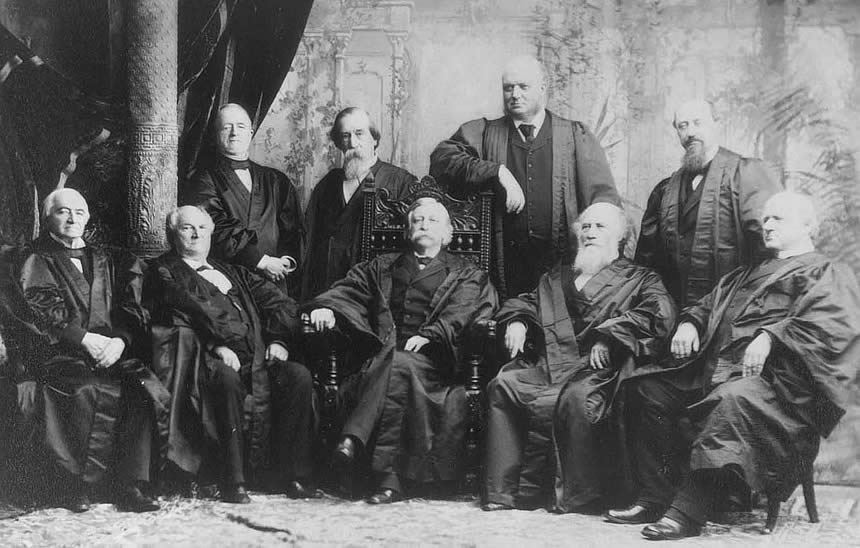 Supreme Court by Napoleon Sarony 1890