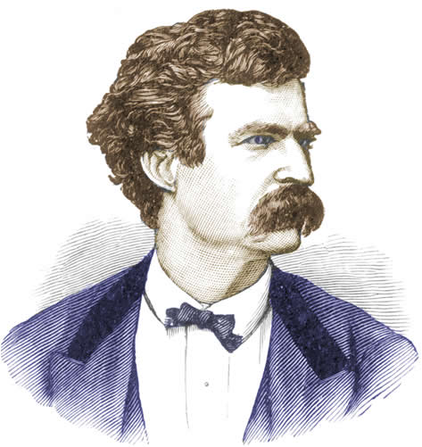 Twain from Hill 1888
