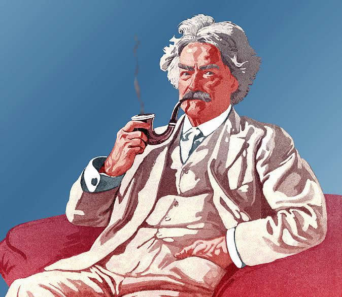 Mark Twain graphic