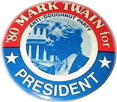 1980 Presidential campaign button