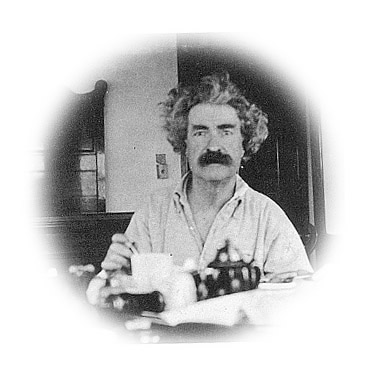 Twain at breakfast