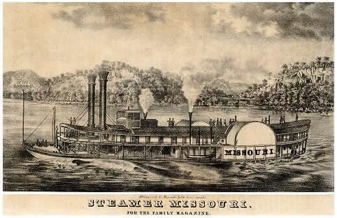 Steamer Missouri