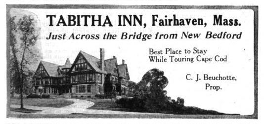 Ad for Tabitha Inn